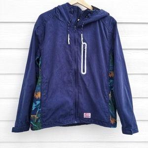 Meters Bonwe   Navy Floral Jacket